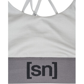 super.natural Motion Top Dames, light grey/silver grey